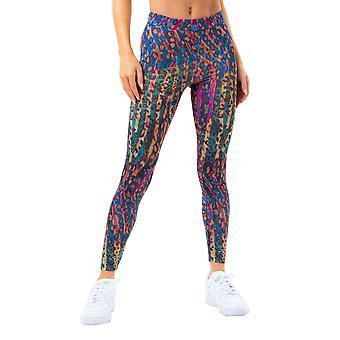 Hype Leggings Donna/Donna Neon Safari
