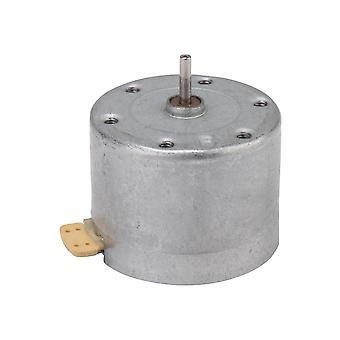 الملحقات القرص الدوار الأقراص الدوارة المعدنية محرك لمسجل الفينيل جزء DC 6v 2400rpm eg-530ad-6f