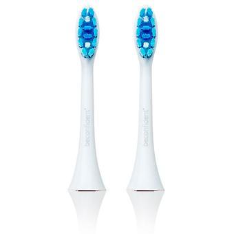 Sonic Toothbrush Head 2-Pack Whitening White