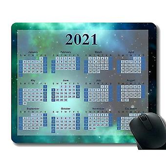 Keyboard mouse wrist rests 220x180x3 2021 calendar mouse pad andromeda galaxy milky way collision space stars soft mouse pads