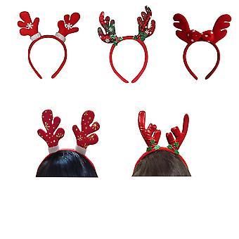 Homemiyn Geweien Kerst hoofdbanden met geassorteerd ontwerp voor kerstfeest benodigdheden