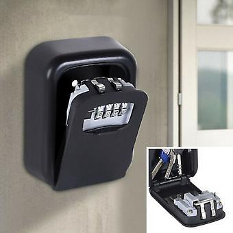 4-numeroinen koodi lukitus avain tallennus seinä asennettu korkea turvalaatikko