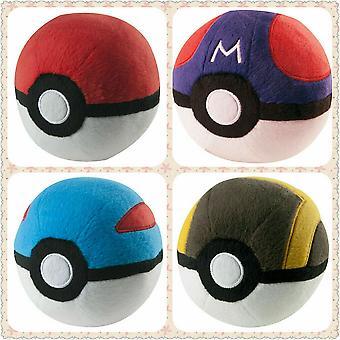 Pokemon Pokeball Master Ball Great Ball Peluche Jouet Doll Kids Cadeau