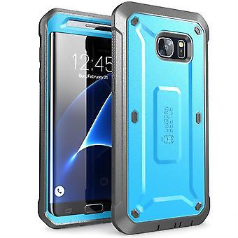 Galaxy S7 Edge Case, SUPCASE,Unicorn Beetle PRO Series, Full-Body Rugged Holster Case Samsung Galaxy S7 Edge-Blue/Black
