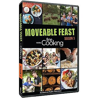 Moveable Feast with Fine Cooking: Season 3 [DVD] USA import