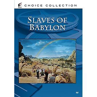 Importer des esclaves de Babylone [DVD] é.-u.