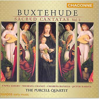 D. Buxtehude - Buxtehude: Cantates sacrées, importation USA Vol. 2 [CD]