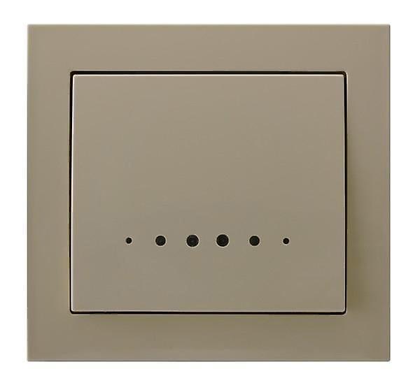 Одна большая кнопка Крытый выключатель настенную пластину с свет различных цветов