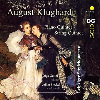 A. Klughardt - August Klughardt: String Quintet; Piano Quintet [CD] USA import