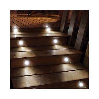 LED Robus Pack Of 10 LED Plinth Kicker Board White Lights