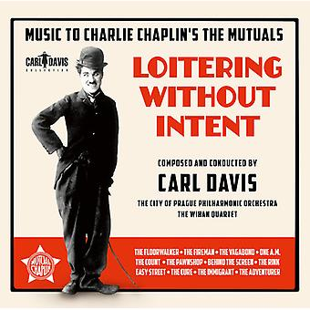 Davis / City of Prague Philharmonic Orchestra - Loitering Without Intent - Music to Charlie Chapli [CD] USA import