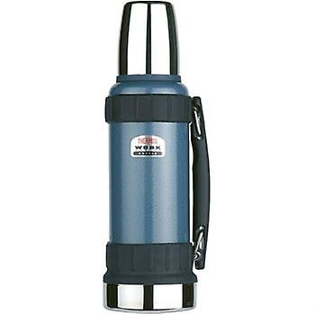 Work Series Flask 1.2L Durable Stainless Steel Interior And Exterior With Handle