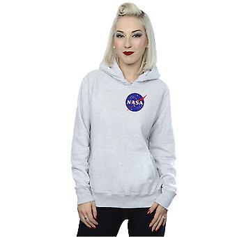 NASA naisten Classic Insignia rinnassa Logo huppari