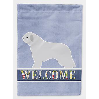 كارولين BB5519CHF الكنوز الإسبانية المياه الكلب حجم علامة ترحيب قماش البيت