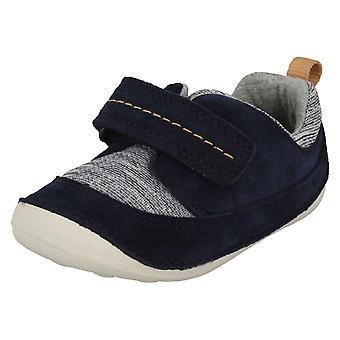 Déplacent des garçons premier Clarks chaussures occasionnelles minuscules
