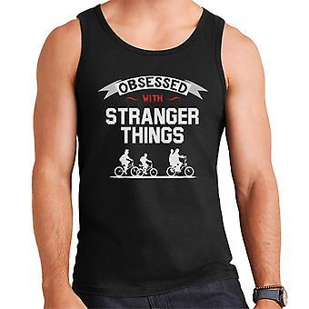 Obsessed With Stranger Things Men's Vest