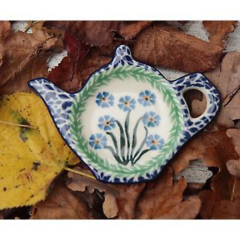 Deposito di bustina di tè, 12 x 8 cm, dimenticare me non, BSN J-4226