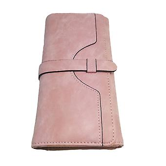 Cute Women's Pink Clutch Purse Wallet Card Holder Coin Pocket Large Clutch Designer