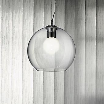 Ideal Lux Nemo Clear 400 globo di vetro a sospensione