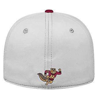 Minnesota Gophers NCAA TOW Impact Gray Stretch Fitted Hat