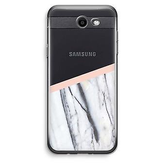 Samsung Galaxy J3 Prime (2017) przezroczysty (Soft) - dotyk brzoskwinia