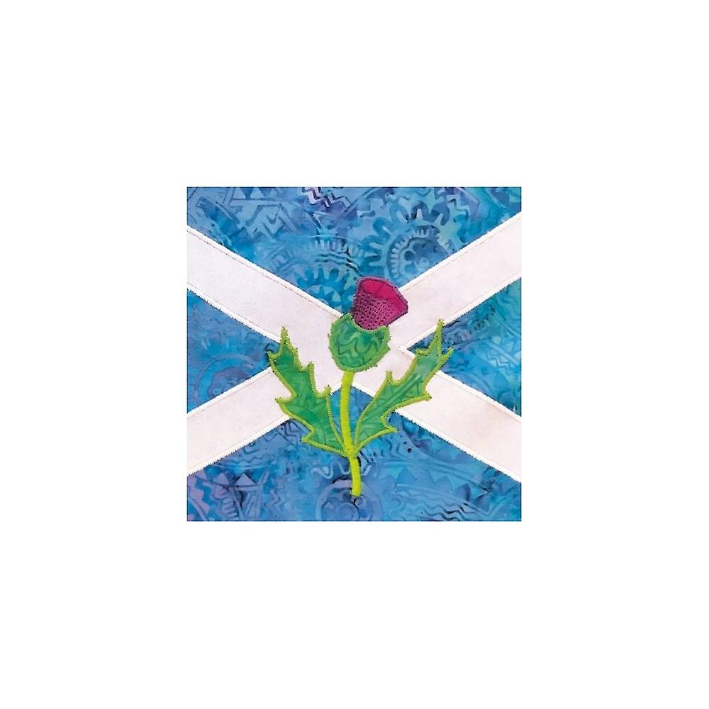 Union Jack Wear Saltire & Thistle - Scotland - Birthday Card