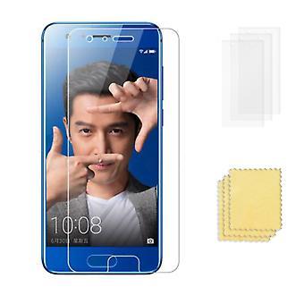3-Pack Huawei Honor 9 Skärmskydd  Transparent