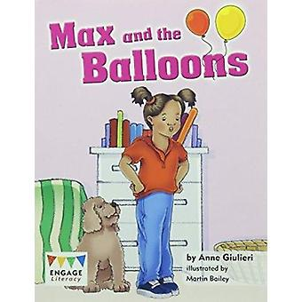 Max and the Balloons by Anne Giulieri - 9781406257656 Book