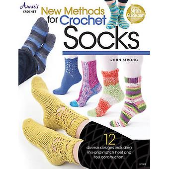 New Methods for Crochet Socks - 12 Diverse Designs by Rohn Strong - 97