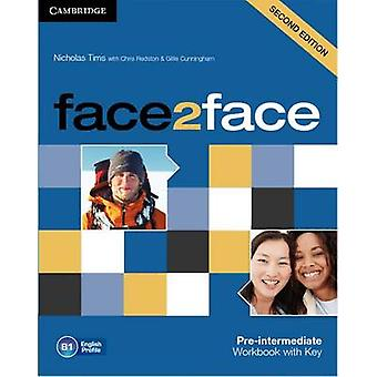 Face2face Pre-intermediate Workbook with Key (2nd Revised edition) by