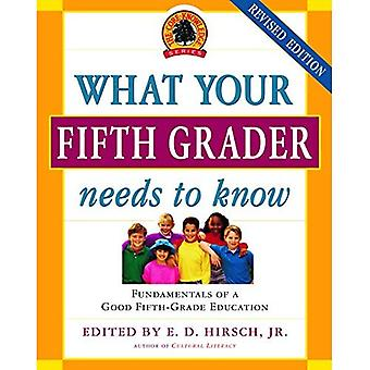 What Your Fifth Grader Needs to Know: Fundamentals of a Good Fifth-Grade Education (Core Knowledge)
