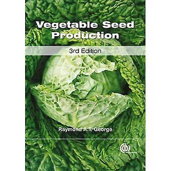 Utsäde av köksväxter produktion