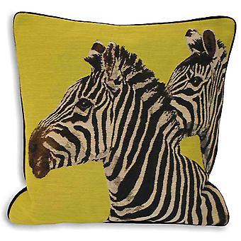 Riva-Home Twin Zebra Kissen decken