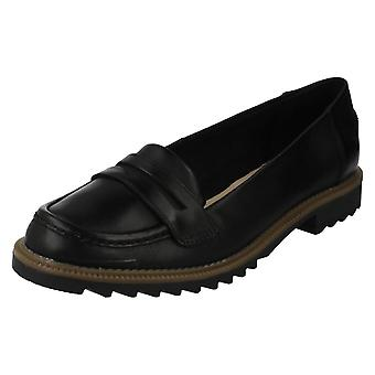 Ladies Clarks Smart Slip On Loafers Griffin Milly