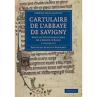 Cartulaire de lAbbaye de Savigny 2 Tom Zestaw edytowany przez Auguste Bernard