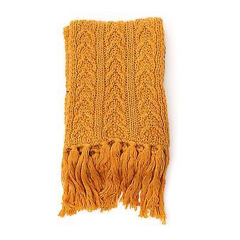 Barena Venezia Acu20610333620 Men's Yellow Wool Scarf