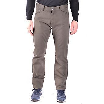 Paul & Shark Ezbc042058 Men's Green Cotton Pants