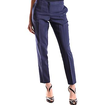 Liu Jo Ezbc086130 Women's Blue Viscose Pants