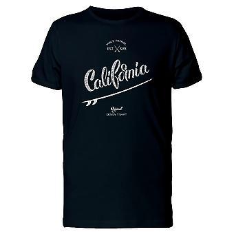 California Surfbrett 1978 T-Shirt Herren-Bild von Shutterstock