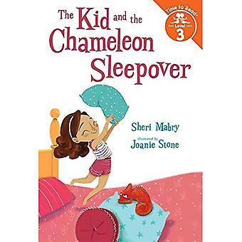 Ungen och den kameleont Sleepover (ungen och kameleonten: tid att läsa, nivå 3)