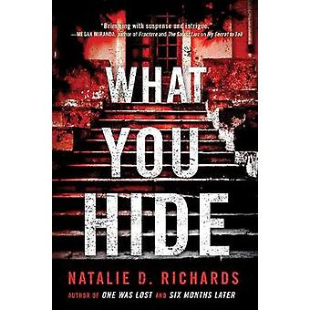 What you hide by What you hide - 9781492657187 Book
