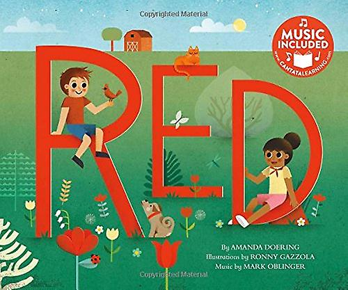 Red by Amanda Doering - 9781684102013 Book