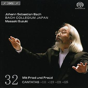Bach Collegium Japan - Bach: Cantatas, Vol. 32 - Bwv 111, 123, 124 and 125 [SACD] USA import