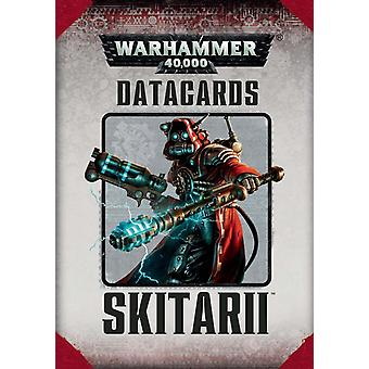 Jogos Workshop-Warhammer 40.000-datacards: Skitarii
