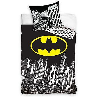 Batman Gotham City enkel katoenen Dekbedovertrek set
