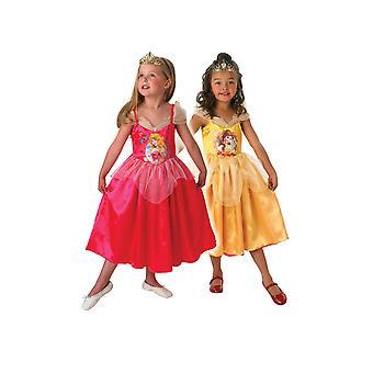 Obojstranný kostým Šípková Ruženka do Belle-Disney