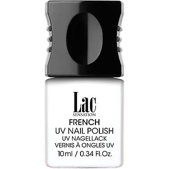 Alessandro Lac Sensation French UV Colour Nail Polish - French White 10ml