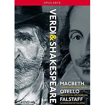 Verdi: Shakespeare Operas [DVD] USA import