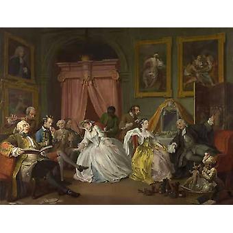 الزواج وضع لوس انجليس الرابع المرحاض، وليام هوغارث، 50x38cm