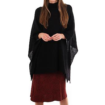 Jeff Belly Turtle Neck Poncho